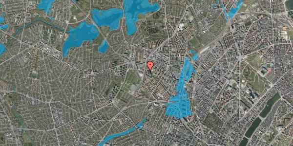 Oversvømmelsesrisiko fra vandløb på Gråspurvevej 15, 2. 3, 2400 København NV