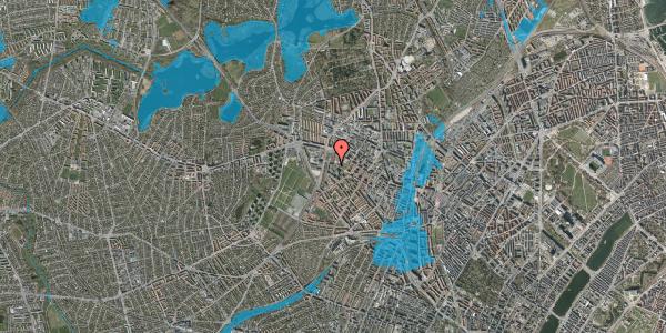Oversvømmelsesrisiko fra vandløb på Gråspurvevej 27, 4. 1, 2400 København NV