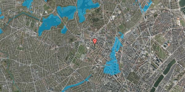 Oversvømmelsesrisiko fra vandløb på Gråspurvevej 27, 3. 2, 2400 København NV