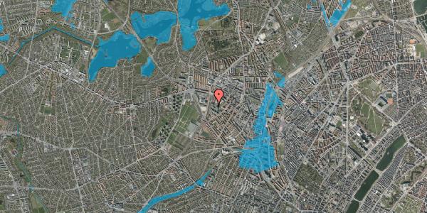 Oversvømmelsesrisiko fra vandløb på Gråspurvevej 35, st. , 2400 København NV