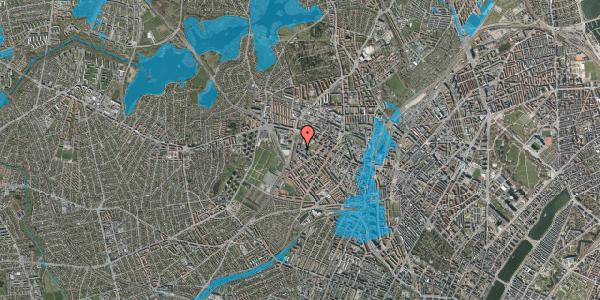 Oversvømmelsesrisiko fra vandløb på Gråspurvevej 37, 3. 4, 2400 København NV