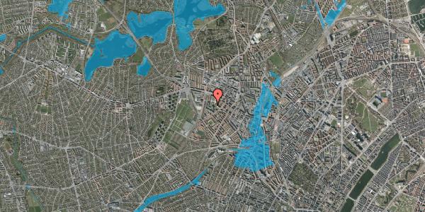 Oversvømmelsesrisiko fra vandløb på Gråspurvevej 51, 5. 2, 2400 København NV