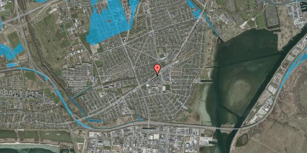 Oversvømmelsesrisiko fra vandløb på Gammel Køge Landevej 376F, 1. , 2650 Hvidovre