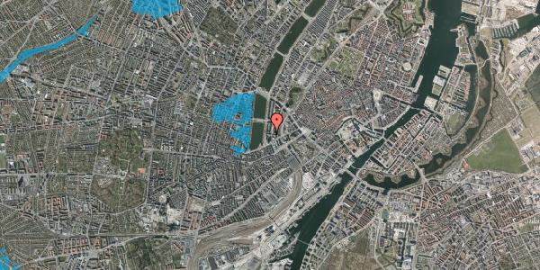 Oversvømmelsesrisiko fra vandløb på Nyropsgade 42, 5. , 1602 København V