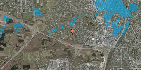 Oversvømmelsesrisiko fra vandløb på Kamillevænget 21, 2600 Glostrup