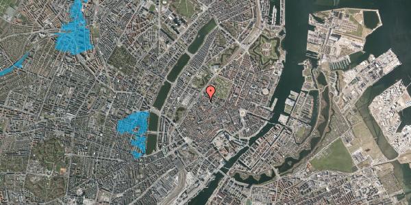 Oversvømmelsesrisiko fra vandløb på Hausergade 3, 4. , 1128 København K
