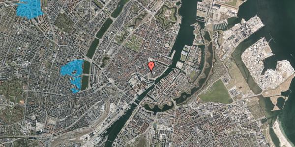Oversvømmelsesrisiko fra vandløb på Bremerholm 39, st. , 1069 København K