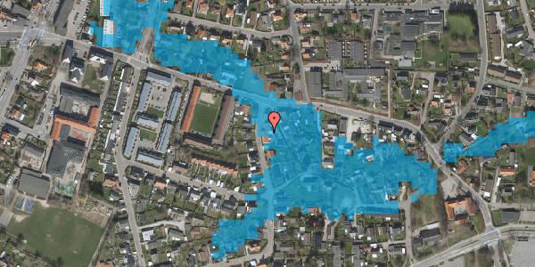 Oversvømmelsesrisiko fra vandløb på Åvænget 3A, 2630 Taastrup