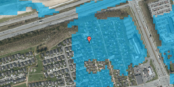 Oversvømmelsesrisiko fra vandløb på Hf. Kettehøj 31, 2650 Hvidovre