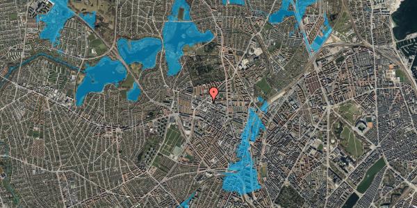 Oversvømmelsesrisiko fra vandløb på Dortheavej 39A, st. , 2400 København NV