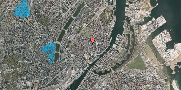 Oversvømmelsesrisiko fra vandløb på Pilestræde 12B, 1112 København K