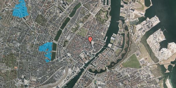 Oversvømmelsesrisiko fra vandløb på Østergade 26D, st. , 1100 København K