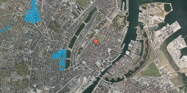 Oversvømmelsesrisiko fra vandløb på Pustervig 8B, 3. , 1126 København K