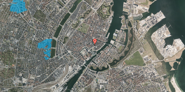 Oversvømmelsesrisiko fra vandløb på Laksegade 11, st. , 1063 København K