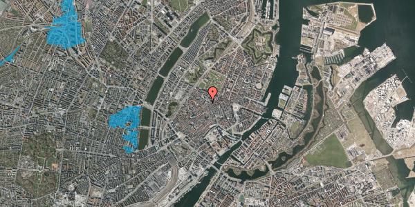 Oversvømmelsesrisiko fra vandløb på Købmagergade 50F, 1150 København K