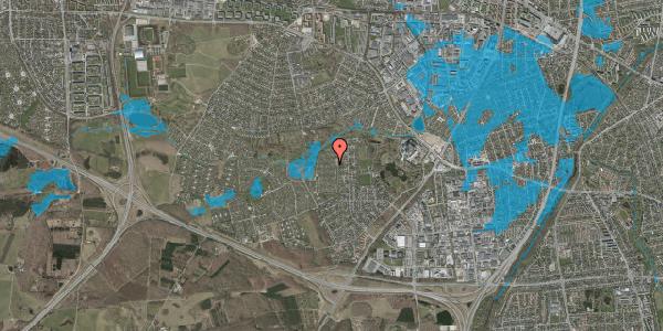 Oversvømmelsesrisiko fra vandløb på Vængedalen 610, 2600 Glostrup