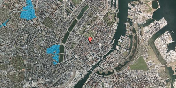Oversvømmelsesrisiko fra vandløb på Købmagergade 46C, 3. , 1150 København K