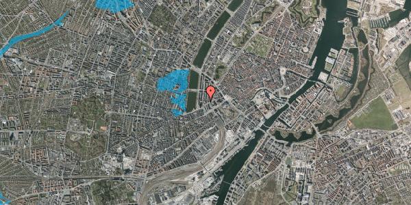 Oversvømmelsesrisiko fra vandløb på Vester Farimagsgade 9, 3. , 1606 København V