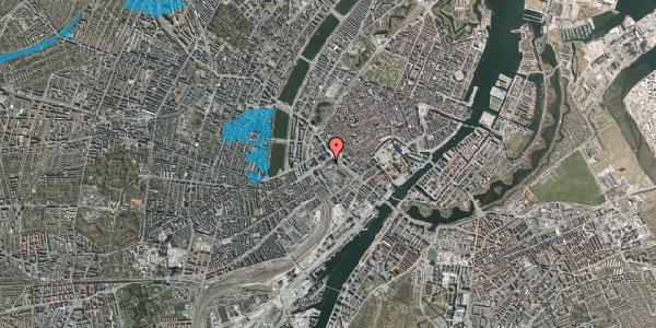 Oversvømmelsesrisiko fra vandløb på Vesterbrogade 1E, 4. th, 1620 København V