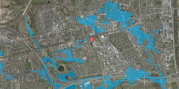 Oversvømmelsesrisiko fra vandløb på Stenkløvervænget 21, 2625 Vallensbæk