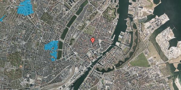 Oversvømmelsesrisiko fra vandløb på Købmagergade 3, st. th, 1150 København K