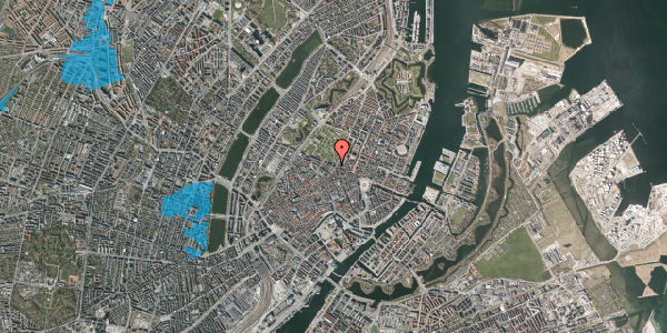 Oversvømmelsesrisiko fra vandløb på Gothersgade 49, 3. tv, 1123 København K