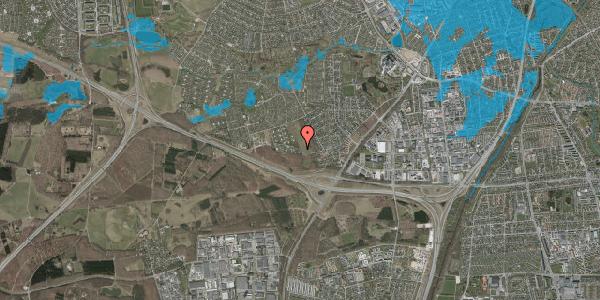 Oversvømmelsesrisiko fra vandløb på Karsevænget 65, 2600 Glostrup