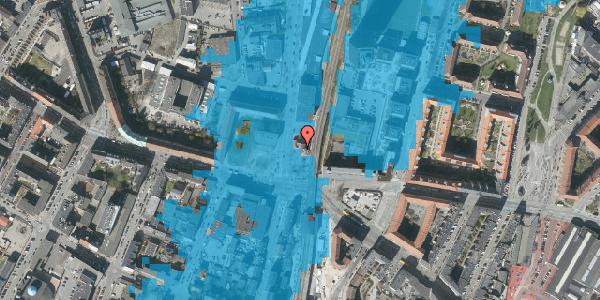 Oversvømmelsesrisiko fra vandløb på Lygten 2, 2400 København NV