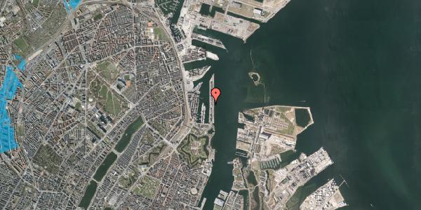 Oversvømmelsesrisiko fra vandløb på Langelinie Allé 29B, 2100 København Ø