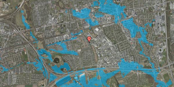 Oversvømmelsesrisiko fra vandløb på Promenaden 4, 2625 Vallensbæk