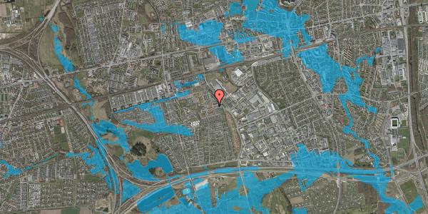 Oversvømmelsesrisiko fra vandløb på Promenaden 6, 2625 Vallensbæk