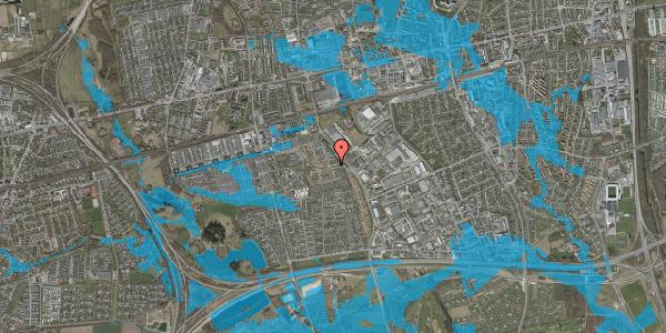 Oversvømmelsesrisiko fra vandløb på Promenaden 16, 2625 Vallensbæk