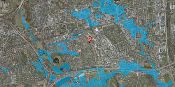 Oversvømmelsesrisiko fra vandløb på Promenaden 18, 2625 Vallensbæk