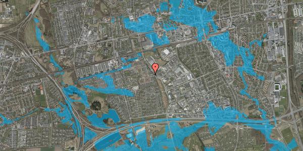 Oversvømmelsesrisiko fra vandløb på Promenaden 28, 2625 Vallensbæk