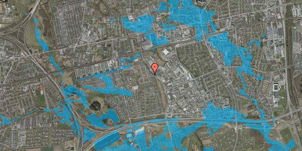 Oversvømmelsesrisiko fra vandløb på Promenaden 30, 2625 Vallensbæk