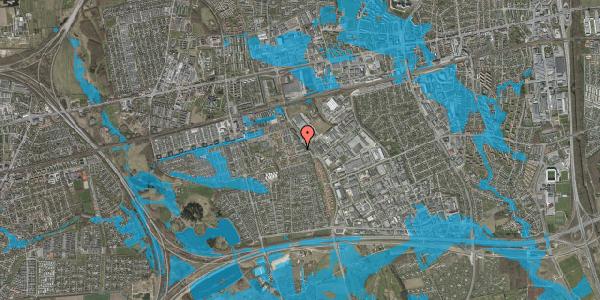 Oversvømmelsesrisiko fra vandløb på Promenaden 56, 2625 Vallensbæk
