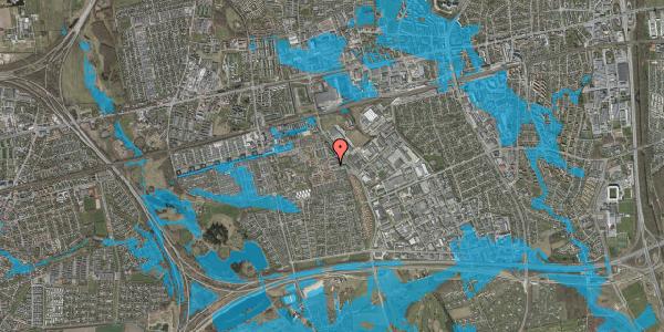 Oversvømmelsesrisiko fra vandløb på Promenaden 68, 2625 Vallensbæk
