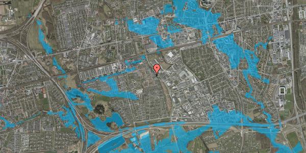 Oversvømmelsesrisiko fra vandløb på Promenaden 84, 2625 Vallensbæk