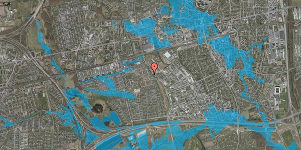 Oversvømmelsesrisiko fra vandløb på Promenaden 108, 2625 Vallensbæk
