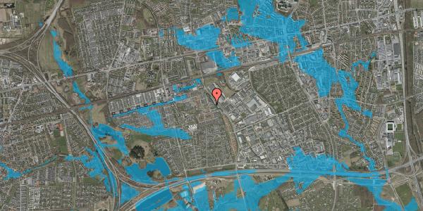 Oversvømmelsesrisiko fra vandløb på Promenaden 110, 2625 Vallensbæk