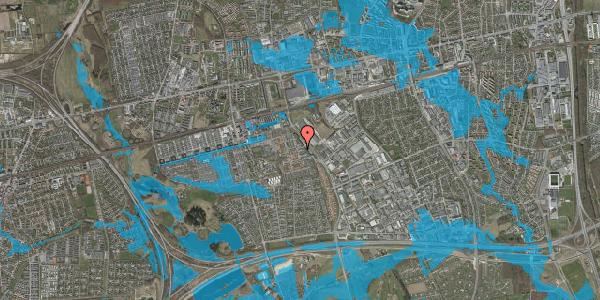 Oversvømmelsesrisiko fra vandløb på Promenaden 114, 2625 Vallensbæk