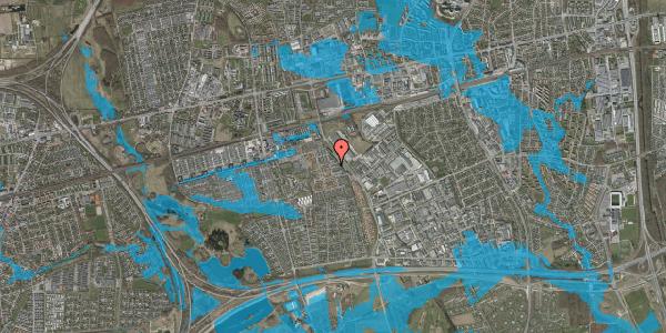 Oversvømmelsesrisiko fra vandløb på Promenaden 116, 2625 Vallensbæk