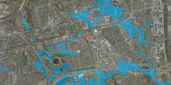 Oversvømmelsesrisiko fra vandløb på Promenaden 118, 2625 Vallensbæk