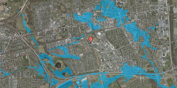 Oversvømmelsesrisiko fra vandløb på Promenaden 146, 2625 Vallensbæk