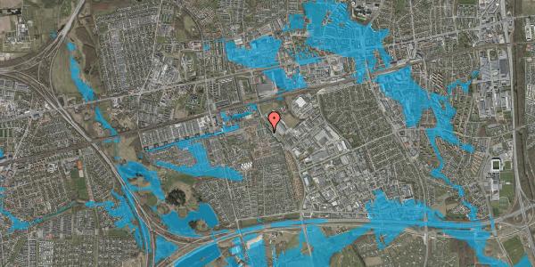 Oversvømmelsesrisiko fra vandløb på Promenaden 148, 2625 Vallensbæk