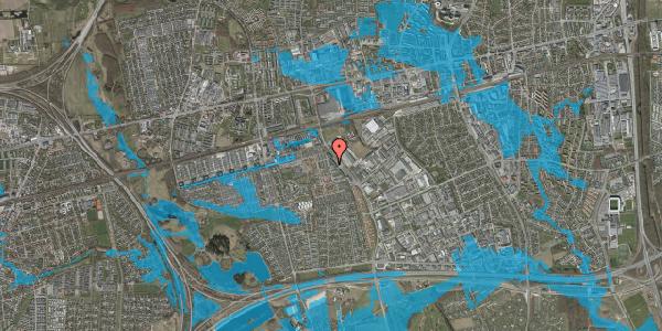 Oversvømmelsesrisiko fra vandløb på Promenaden 150, 2625 Vallensbæk