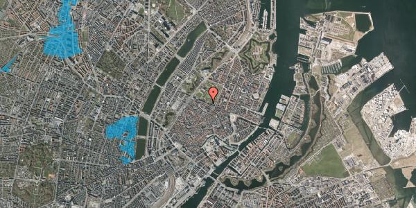 Oversvømmelsesrisiko fra vandløb på Gothersgade 55, 2. th, 1123 København K