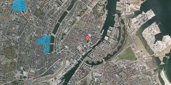 Oversvømmelsesrisiko fra vandløb på Nikolajgade 22, 1068 København K