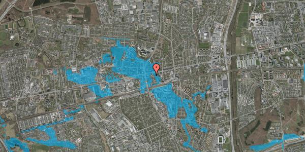 Oversvømmelsesrisiko fra vandløb på Bryggergårdsvej 3, 2600 Glostrup