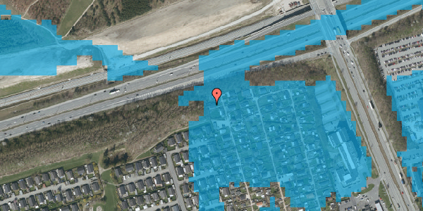 Oversvømmelsesrisiko fra vandløb på Hf. Kettehøj 26, 2650 Hvidovre